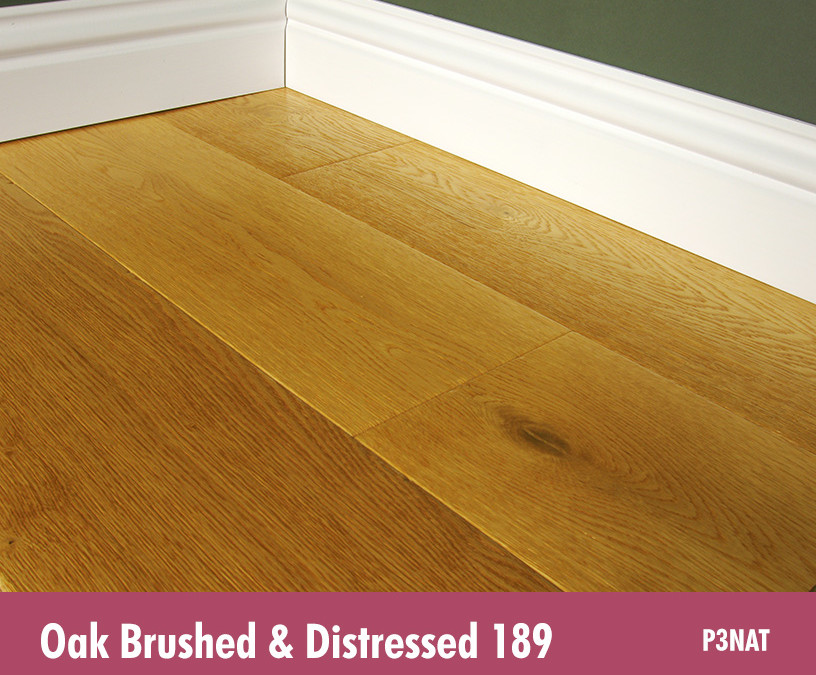 Oak Brushed & Distressed 189