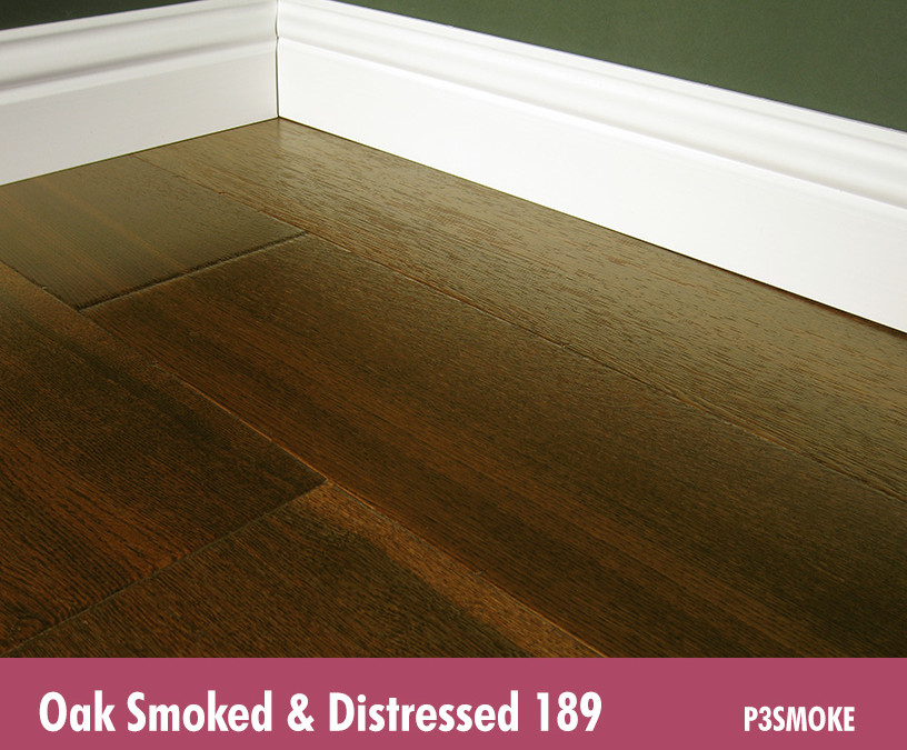 Oak Smoked & Stained Distressed 189
