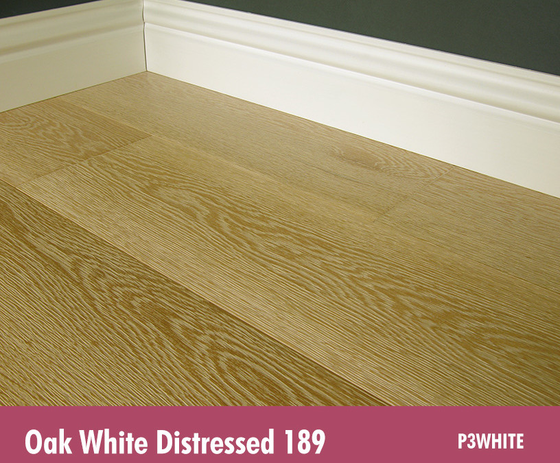 Oak White Distressed 189
