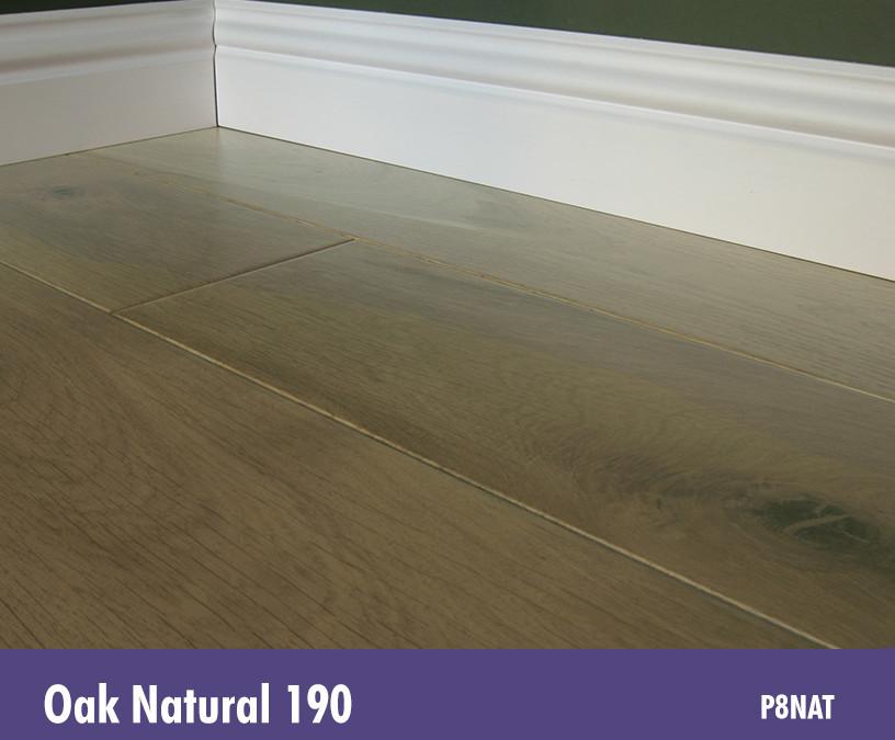 Solid Oak Natural 190