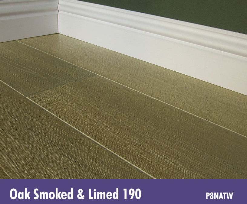 Solid Oak Smoked & Limed 190