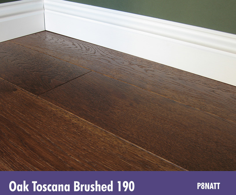 Solid Oak Toscana Brushed 190