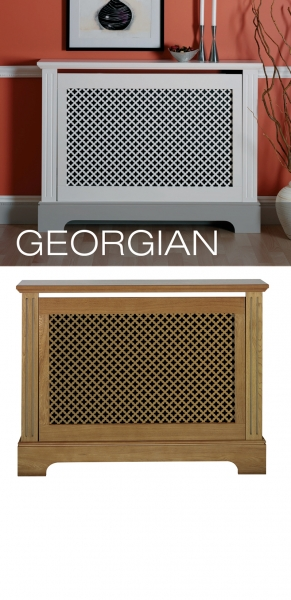 Georgian Radiator Cabinet