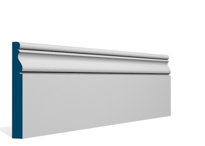19 x 144mm Pre-Primed / Pre-Painted Wood Ardan Skirting (5×2.4m)