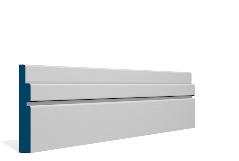 19 x 119mm Pre-Primed / Pre-Painted Wood Ballymore Skirting (5×2.4m)