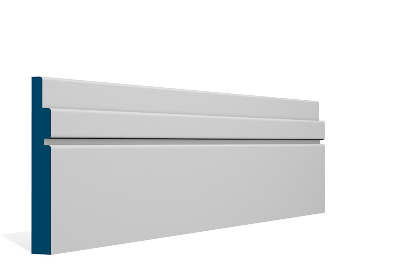 19 x 144mm Pre-Primed / Pre-Painted Wood Ballymore Skirting (5×2.4m)