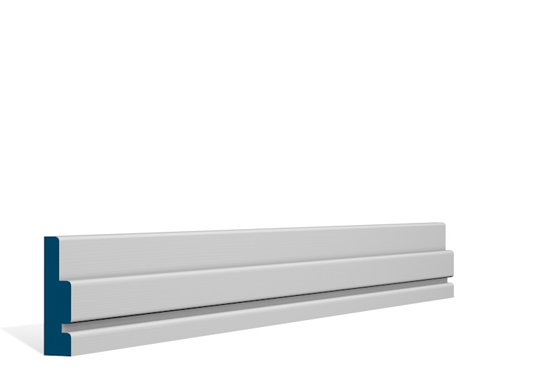 19 x 69mm Pre-Primed / Pre-Painted Wood Ballymore Architrave or Skirting (5×2.25m)