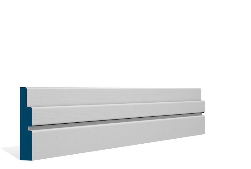 19 x 94mm Pre-Primed / Pre-Painted Wood Ballymore Architrave or Skirting (5×2.25m)