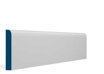 19 x 119mm Pre-Primed / Pre-Painted Wood Bullnose Skirting (5×2.4m)