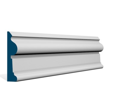 30 x 121mm Pre-Primed / Pre-Painted Wood Castlewellan Architrave (5×2.4m)
