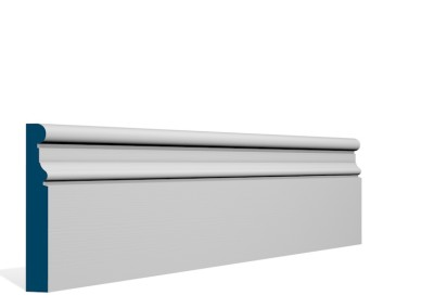 19 x 119mm Pre-Primed / Pre-Painted Wood Clonkeen Skirting (5×2.4m)