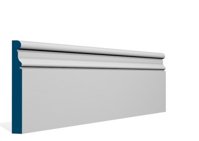19 x 144mm Pre-Primed / Pre-Painted Wood Clonkeen Skirting (5×2.4m)