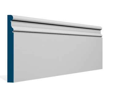 19 x 169mm Pre-Primed / Pre-Painted Wood Clonkeen Skirting (5×2.4m)