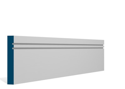 19 x 119mm Pre-Primed / Pre-Painted Wood Double Shaker Skirting (5×2.4m)