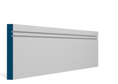 19 x 144mm Pre-Primed / Pre-Painted Wood Double Shaker Skirting (5×2.4m)