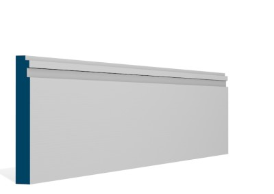 19 x 144mm Pre-Primed / Pre-Painted Wood Double Step Skirting (5×2.4m)