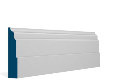 30 x 144mm Pre-Primed/Pre-Painted Wood Dromoland Skirting (5×2.4m)