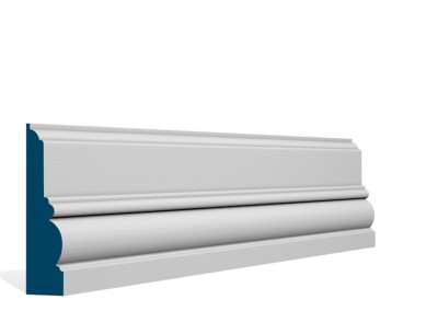 31 x 120mm Pre-Primed / Pre-Painted Wood Glenveagh Architrave or Skirting (5×2.4m)