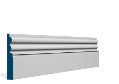 19 x 119mm Pre-Primed / Pre-Painted Wood Kilcooley Skirting (5×2.4m)
