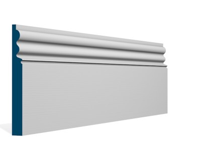 19 x 169mm Pre-Primed / Pre-Painted Wood Kilcooley Skirting (5×2.4m)