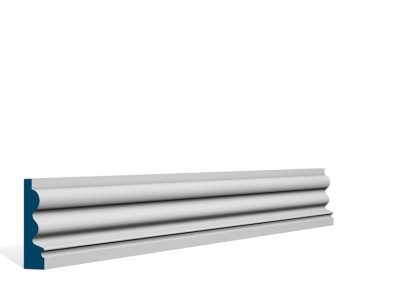 19 x 69mm Pre-Primed / Pre-Painted Wood Kilcooley Architrave or Skirting (5×2.25m)