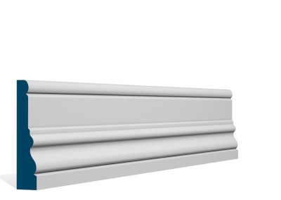 25 x 119mm Pre-Primed / Pre-Painted Wood Laurel Architrave or Skirting (5×2.4m)