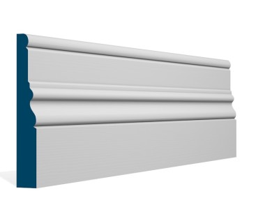 25 x 169mm Pre-Primed/Pre-Painted Wood Laurel Skirting (5×2.4m) Buy Now