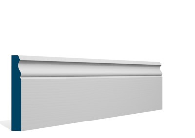 19 x 119mm Pre-Primed / Pre-Painted Wood Ogee Skirting (5×2.4m)