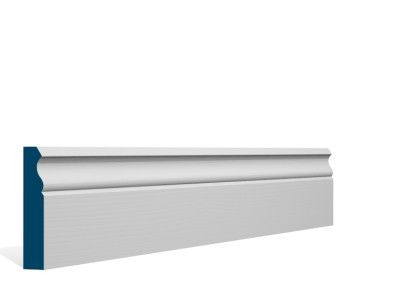 19 x 94mm Pre-Primed / Pre-Painted Wood Ogee Architrave or Skirting (5×2.25m)