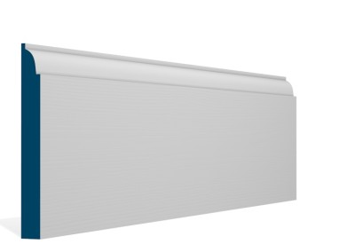 19 x 169mm Pre-Primed / Pre-Painted Wood Ovolo Skirting (5×2.4m)