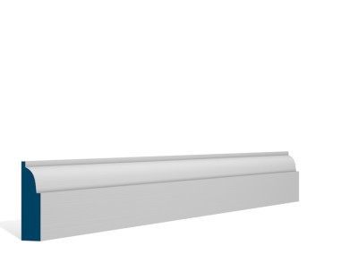 19 x 69mm Pre-Primed / Pre-Painted Wood Ovolo Architrave or Skirting (5×2.25m)