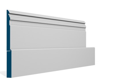 25 x 319mm Pre-Primed / Pre-Painted Wood Owel Skirting (5×2.4m)