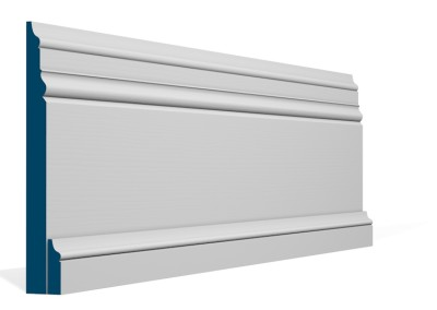 31 x 219mm Pre-Primed / Pre-Painted Wood Pallas Skirting (4×2.4m)