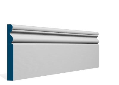19 x 144mm Pre-Primed / Pre-Painted Wood Portmore Skirting (5×2.4m)