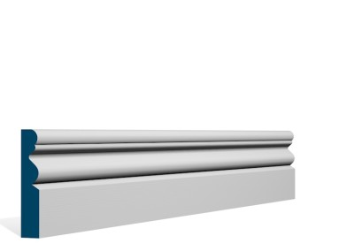 19 x 94mm Pre-Primed / Pre-Painted Wood Portmore Architrave or Skirting (5×2.25m)