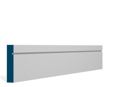 19 x 94mm Pre-Primed / Pre-Painted Wood Shaker Architrave or Skirting (5×2.25m)