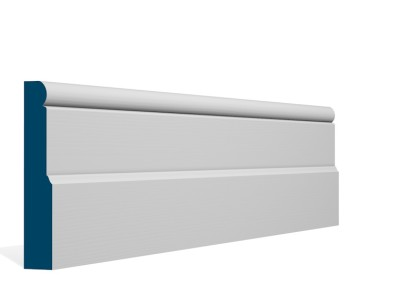 25 x 144mm Pre-Primed/Pre-Painted Wood Shannagh Skirting (5×2.4m)