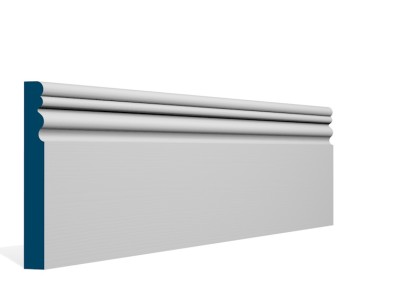 19 x 144mm Pre-Primed / Pre-Painted Wood Sheelin Skirting (5×2.4m)