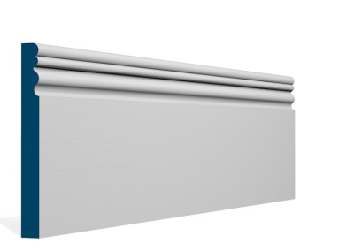 19 x 169mm Pre-Primed / Pre-Painted Wood Sheelin Skirting (5×2.4m)