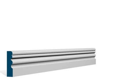 19 x 69mm Pre-Primed / Pre-Painted Wood Sheelin Architrave or Skirting (5×2.25m)