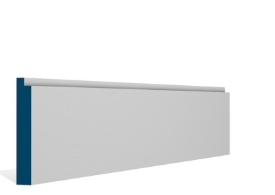 19 x 119mm Pre-Primed / Pre-Painted Wood Single Step Skirting (5×2.4m)