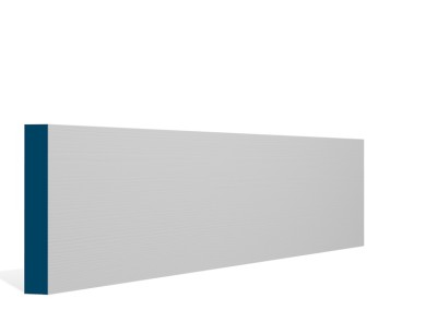 19 x 119mm Pre-Primed / Pre-Painted Wood Pencil Edge Skirting (5×2.4m)