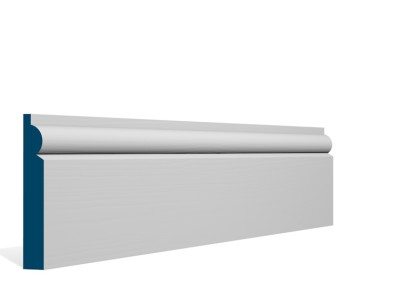 19 x 119mm Pre-Primed / Pre-Painted Wood Torus Skirting (5×2.4m)