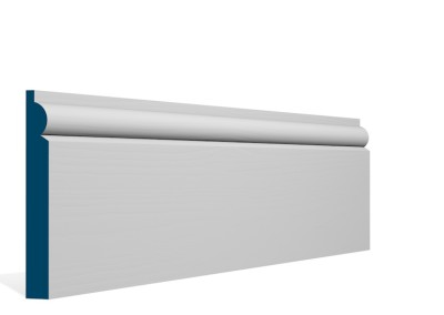 19 x 144mm Pre-Primed / Pre-Painted Wood Torus Skirting (5×2.4m)