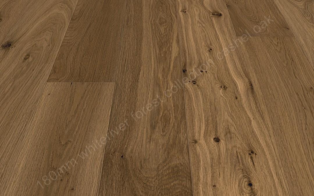 180mm Forest Cashel Oak Smoked, Brushed & Matt Varnished