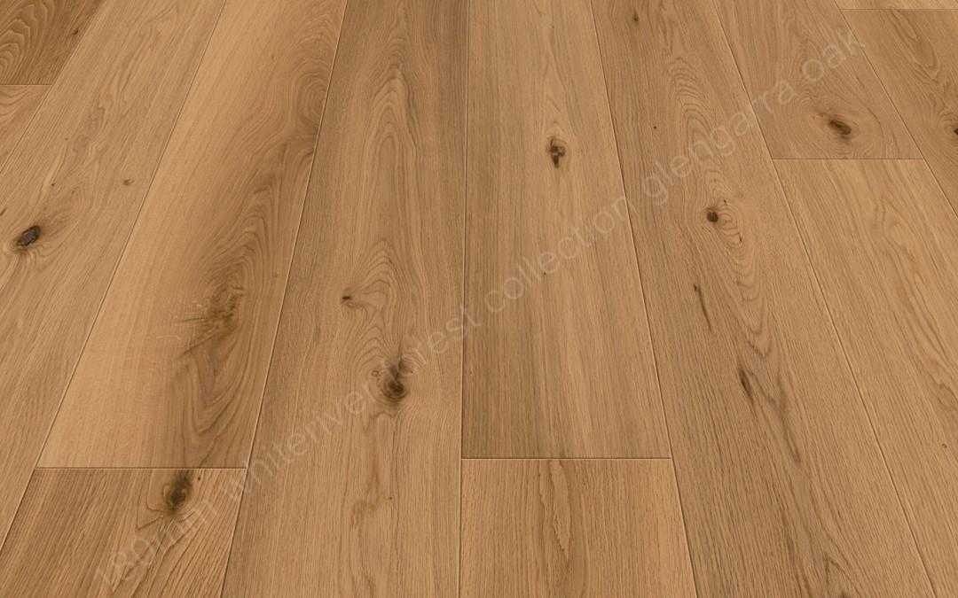 180mm Forest Glengarra Oak Brushed & Matt Varnished