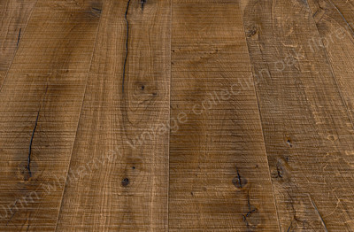 180mm Vintage Oak Florence Smoked, Band Sawn, Knots Deep Brushed & Sanded, Nat. Oiled
