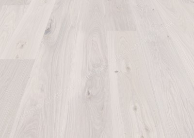 189mm Heritage Arctic Oak  Brushed & Matt White Varnished