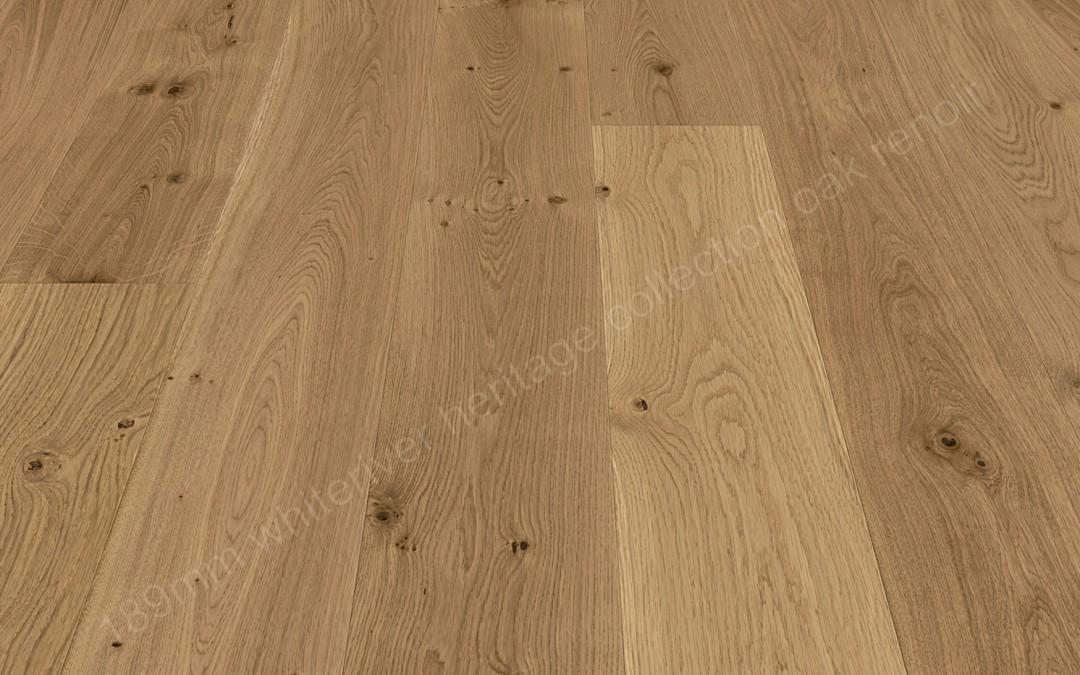 189mm Heritage Oak Renoir Brushed & Matt Varnished
