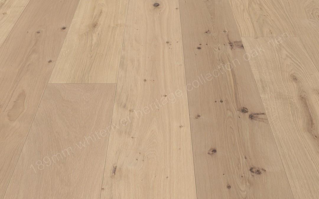 189mm Heritage Oak Rien Unfinished, Sanded & Filled